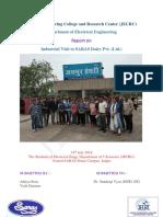 Saras Dairy Report