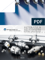 Spraying systems for liquid fuels
