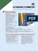 STUF-200H Handheld Ultrasonic Flowmeter