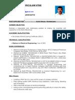 Praveen CV UPDATED Edit