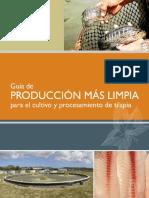 GUÍA DE P+L PARA EL CULTIVO DE TILAPIA