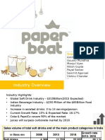 Marketing Project PaperBoat