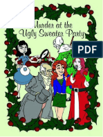 Murder at the Ugly Sweater Party a Murder Mystery Party Kit