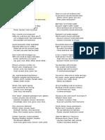 Chaos Poem