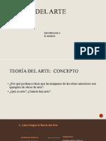 1-El concepto de arte y estética