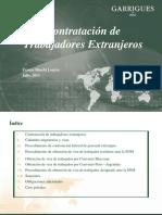 Contrataci+¦n de trabajadores extranjeros