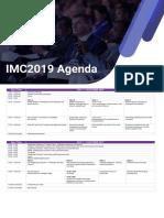 Agenda IMC2019 1