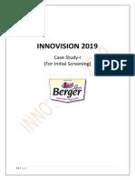 Innovision 2019- Screening Case