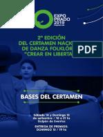 Expo Prado Bases Cocurso Danza 2019