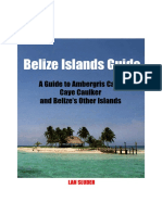 Belize Islands Guide Belize First