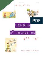 Planificacion Lengua 2º