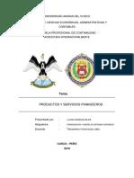 LLANO -- Productos y Servicios Financieros