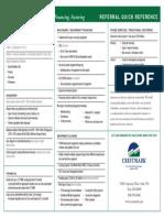 Crestmark - Reference Sheet