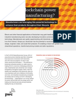 How Can Blockchain Power Industrial Manufacturing?