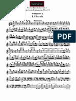 Capricho clarinete