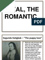 Rizal the Romantic Sermona Ppt