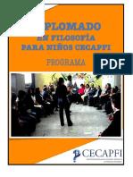 Diplomado Filosofia para niños