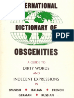 Int'l Dict. of Obscenities [+]