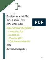 6. VLAN 7. Control de Enlace Lógico (LLC)