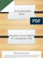 Contemp Arts Lesson 1