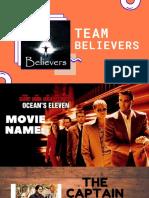 Team Believers Main