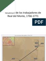Presentación sobre la huelga de real del monte