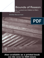 1-21 (Problems of Modern European Thought) Emilia Steuerman-Bounds of Reason_ Habermas, Lyotard and Melanie Klein on Rationality-Routledge (1999).pdf