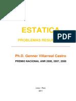 7 ESTATICA  PROBLEMAS RESUELTOS Genner Villarreal.pdf