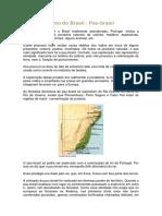 Descobrimento Do Brasil - Pau-brasil Resumo
