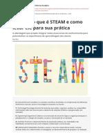 NOVA ESCOLA Entenda o Que e Steam e Como Levar Ele Para Sua Praticapdf