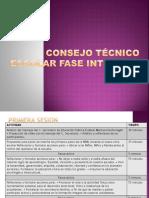 Consejo Técnico Escolar FASE INTENSIVA Sesion 1