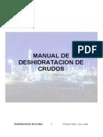 Manual de Deshidratación de Crudos