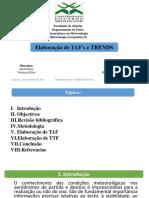 Elaboração de TAF's e Trends - Actualizado