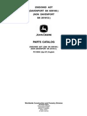 5 John Deere O-Rings matching John Deere # R26448