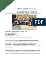 Industrial Visit to Sanchi.