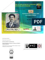 Programa de Primero Secundaria PDCEM