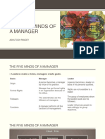 The Five Minds of a Manager