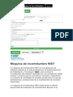 Máquina de incertidumbre NIST verisón 4.0.docx