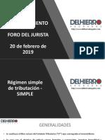 Ley Financiamiento. PP Diego Márquez