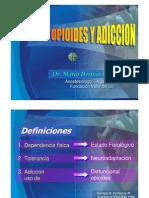 Dolor y Opioides Dr Villegas