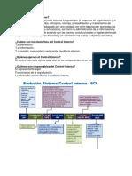 Control Interno y Modelos