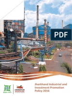 Jharkhand Industrial and Investment Promotion Policy 2016