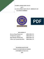 RMK SAP 3 - ANALISIS LAPORAN KEUANGAN