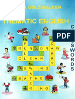 Thematic English Crosswords
