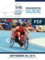 2019 Adaptive Sports & Recreation Summit - Organization Guide