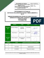 ITO-GOBM-P-009_Rev01 Pro Gestion de Hallazgos de Calidad y MA