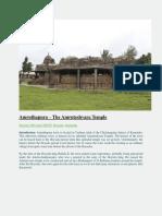 Amruthapura-The Amruteshvara Temple