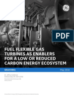 GEA33861 - Fuel Flexible Gas Turbines as Enablers for a Low Carbon Energy Ecosystem