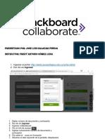 Actividad Interactiva Creando Sesiones Collaborate 3
