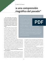 Carretero 2008- Hace falta una comprensión más histórica del pasado.pdf
